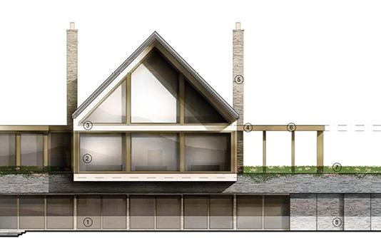 Otter Bank exterior plan