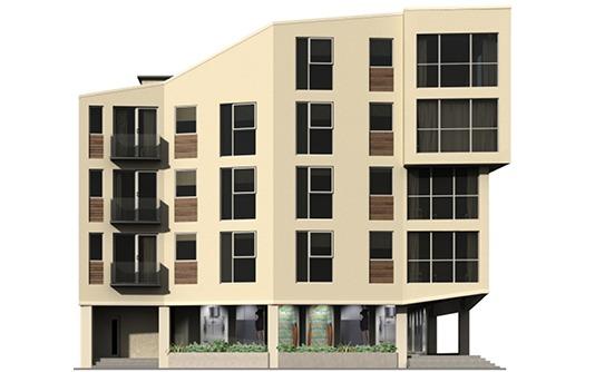 Queen Street regeneration design